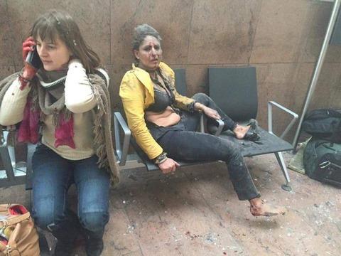 ベルギー地下鉄も爆発! 同時多発テロか!? 空港の負傷者25人以上…… 【画像あり】