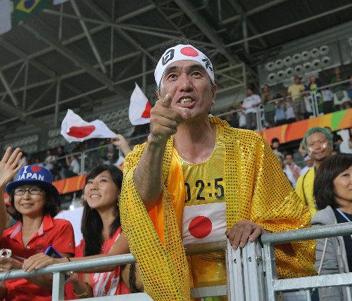 【リオオリンピック】レスリング応援席に江頭2:50の姿が!! 2ch「義理堅い人だな」