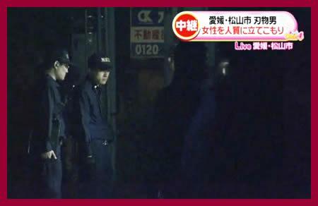【速報】 愛媛・松山立てこもり事件、46歳の男確保 人質の女性は無事(MBS)