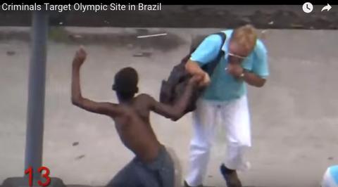 ブラジルの路上を定点観測した動画がヤバすぎる ひったくりの銀座かよと俺の中で話題にwww