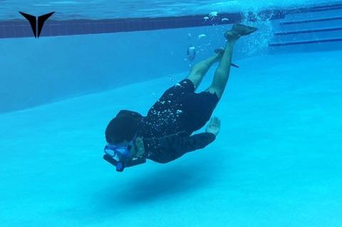 水中で呼吸できる人口エラ『トリトン(Triton)』が凄いと話題! 2ch「すごすぎる、詐欺だろ」