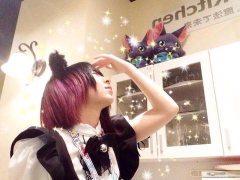 【広島】萌えカフェ黒猫のメイドさんの写真が流出!!
