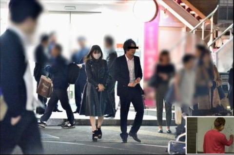 【逮捕か!?】NMB48の木下春奈17歳が子持ちの会社経営者秋田新太郎とホテルに消えた夜がヤバイ…!
