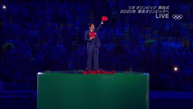 リオオリンピック閉会式に登場した安倍首相のマリオの格好が話題 2ch「なかなか良かった」
