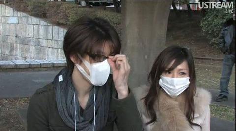 【閲覧注意】花粉症の季節で思わず見とれてしまう「マスク美人」が急増!! 2ch「ただの詐欺じゃん」「悲しくならないのかな??」