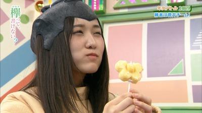 菅井友香、久しぶりに食レポした結果www