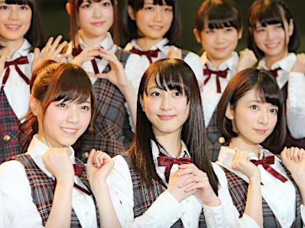 乃木坂46デビューした松井玲奈 (1)