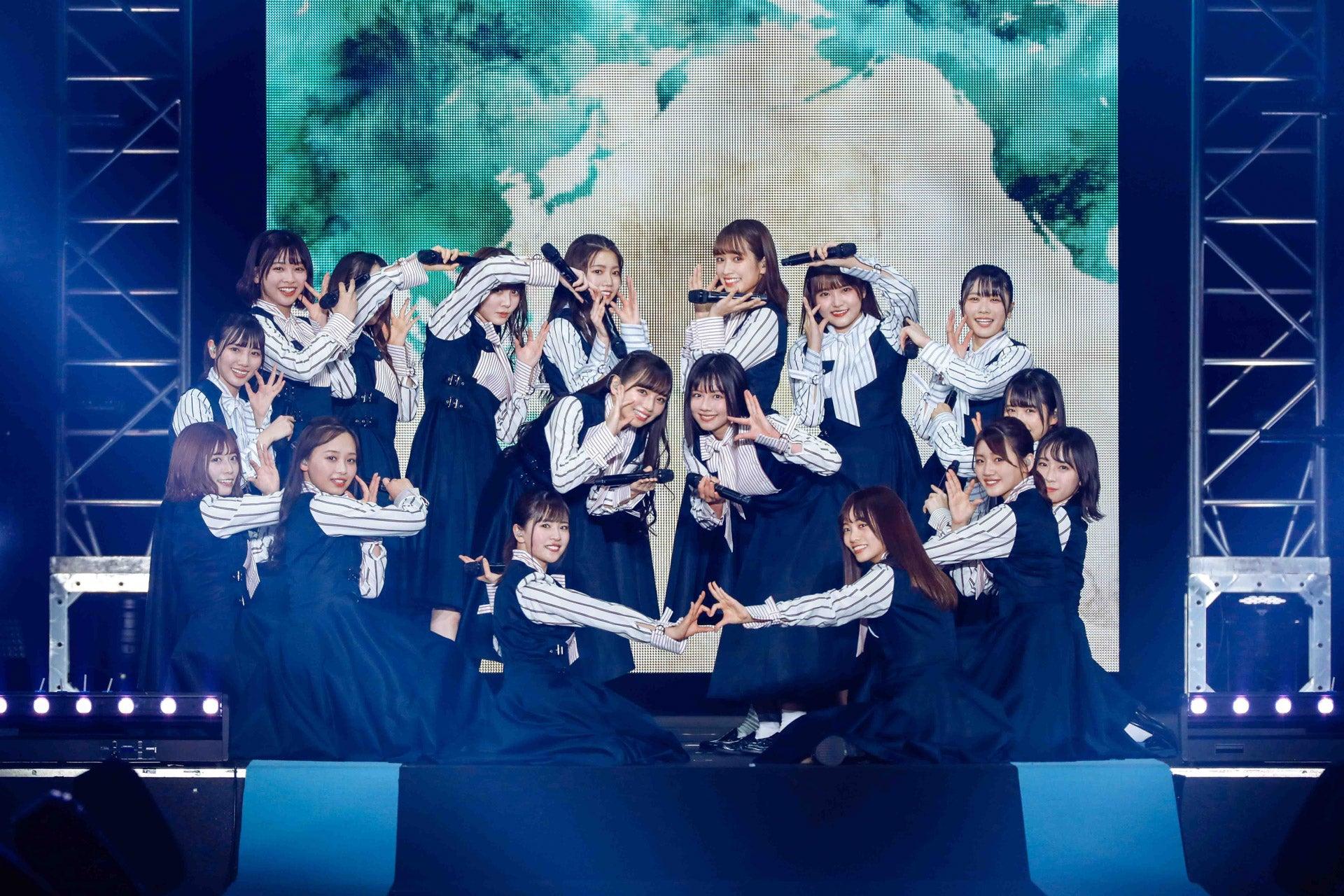 日向坂46、DASADAコラボライブの写真&レポが各メデイアで解禁! : 日向坂46まとめもり~