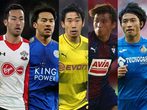 「サッカー 海外組」の画像検索結果
