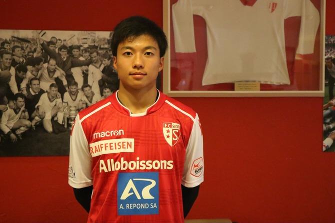 【速報】U‐17日本代表FW若月大和くん、スイス1部FCシオンに移籍!!!