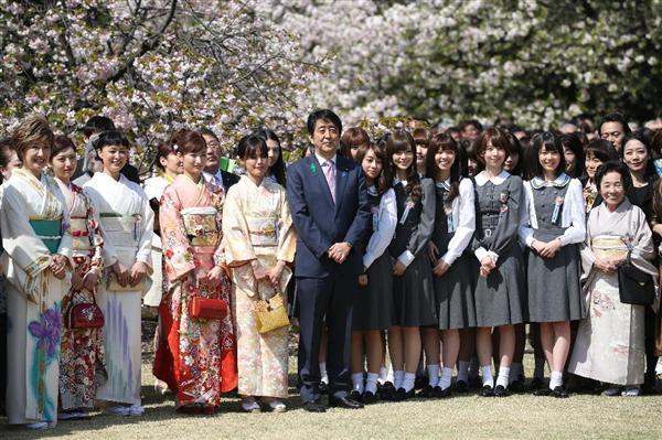 乃木坂46まとめの「ま」  徳光和夫、「桜を見る会」で乃木坂46にデレるコメント一覧