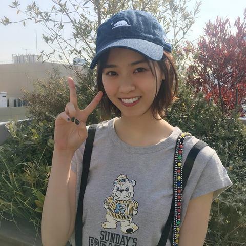 西野七瀬 帽子