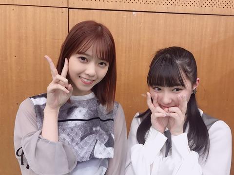 HKT48田中美久と乃木坂46メンバーとの写真が姉妹みたい!