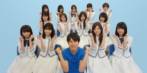 【乃木坂46】史上初2年連続「高校生クイズ」サポーター決定!3期生も参加