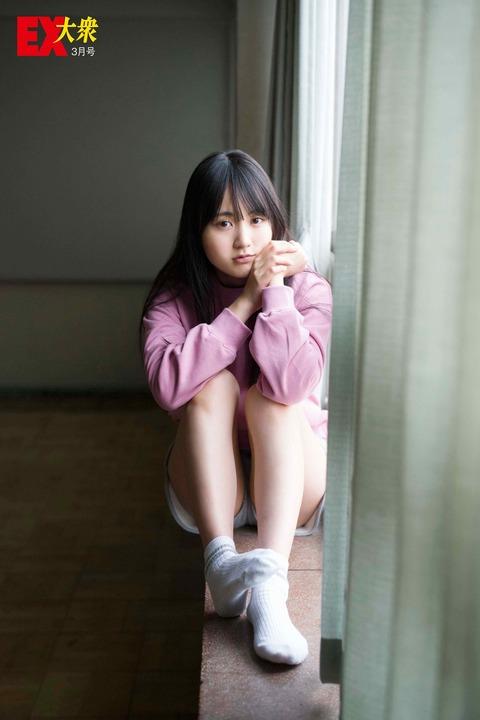 【乃木坂46】賀喜遥香、お尻見えちゃってるじゃん…