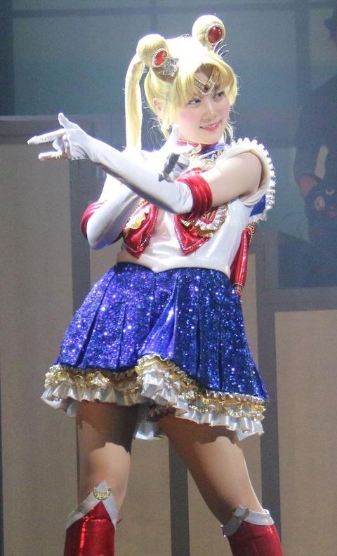【乃木坂46】「セーラームーン」ショートパソツみたいなの履いてるんだな・・・