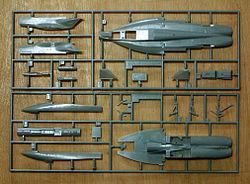 Plastic-model-F18