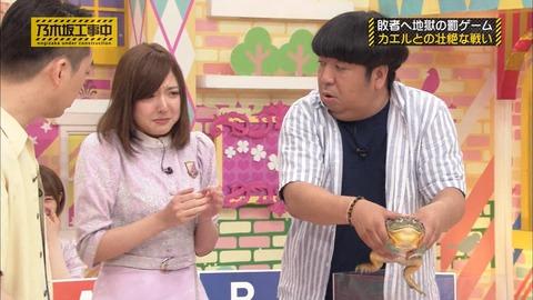 【乃木坂46】和田まあやのおパイがバナナマン日村の腕に当たりそうになってたのに気付いたのは俺だけのようだな
