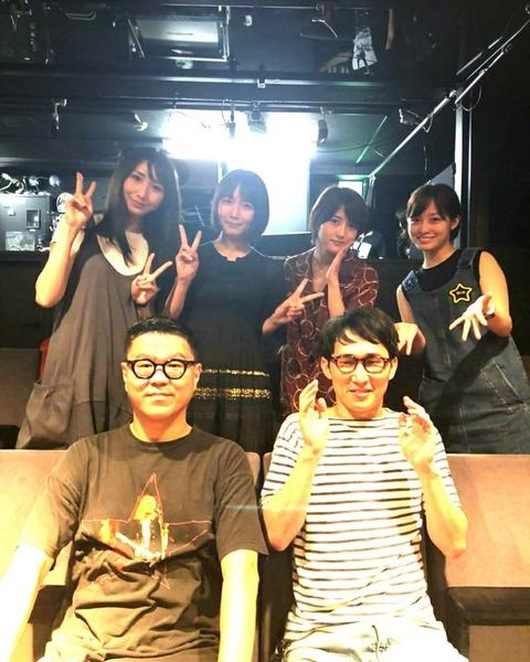 【乃木坂46】吉岡里帆さんのインスタに若月佑美がいる!