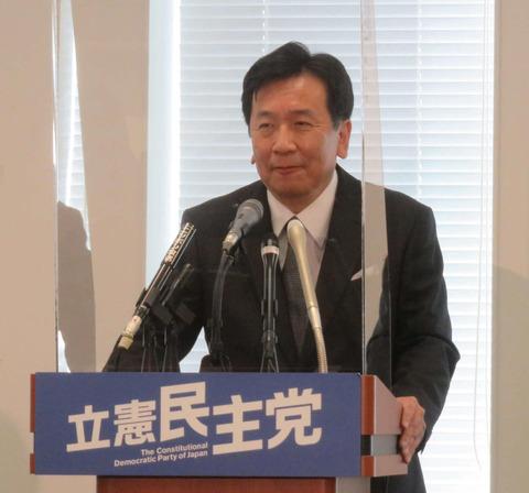 立憲民主党の枝野幸男代表が定例会見で白石麻衣卒業を解説「時代の終わりを感じた。乃木坂は2期3期4期と後継者がちゃんと育っている」