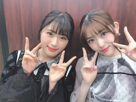 【乃木坂46】松村沙友理と渋谷凪咲の2ショットが素晴らしい!