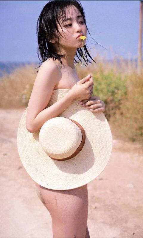 【欅坂46】今泉佑唯さん、大胆ショット公開!写真集爆売れか?