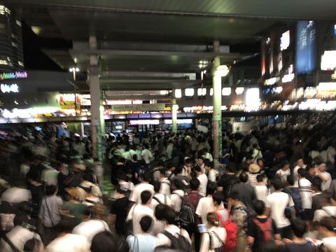 【乃木坂46】京葉線が運転再開の見込みなし…