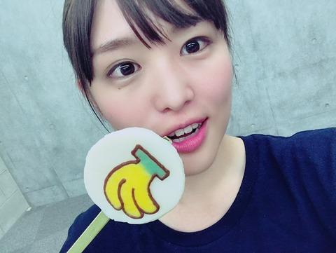 """【乃木坂46】ツアーのバナナマンからの差し入れは""""ペロペロキャンディ""""かな?"""
