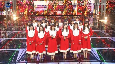 【2018FNS歌謡祭・第2夜】乃木坂46が『We Wish You A Merry Christmas』を披露! キャプチャまとめ