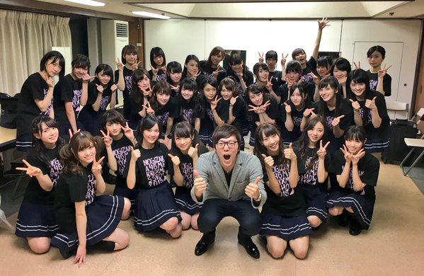 【乃木坂46】ヒカキンがX\u0027masライブに来ていた!集合写真を公開