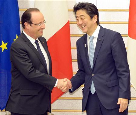 7日の日仏首脳会談で、両首脳がともに意識していたのは中国への懸念だ。東シ... 対中国で利害一致
