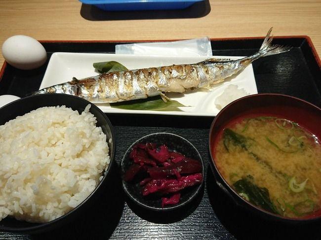 【画像】500円のさんま定食と980円のさんま定食、違いがほとんどない
