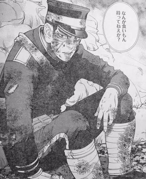 【ゴールデンカムイ】お互い覚えてないだろうけど戦地で会ってるんだよな杉元と谷垣