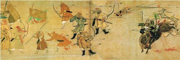 【元寇】1274年 蒙古軍「ヒャッハーwwwww極東の島国なんて楽勝鎮圧だぜええええええええええwwww」