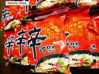 韓国の国民食「辛ラーメン」が首位陥落