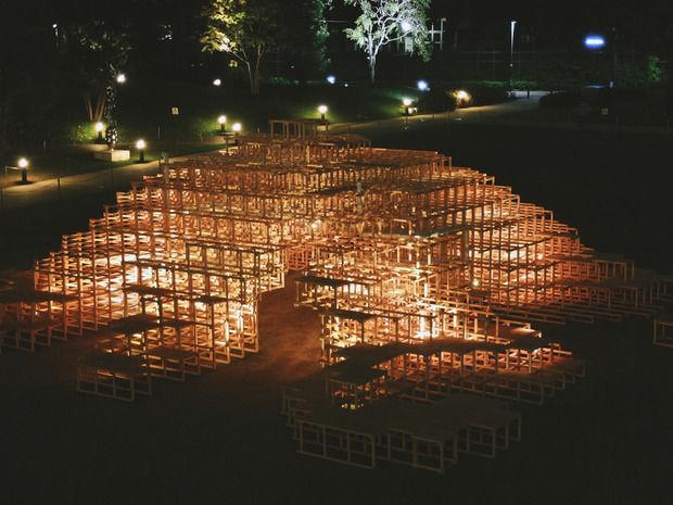 【パクリ】新宿のアート展で展示物が燃える大惨事 5歳の子供が焼死 デザインそのものが盗用だった?