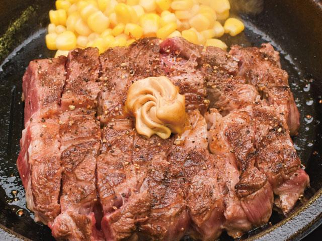 ワイ、いきなりステーキでワイルドステーキ450gを完食!一般人「すごい!」お前ら「普通やろ」