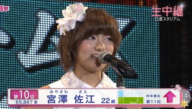 チームSリーダー内定の宮澤佐江がブログ更新「SKE48のファンの皆様。」