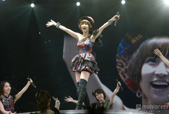 篠田麻里子、サプライズで「上からマリコ」披露 「マジかよ、行きたかった」「投票して良かった」などの声