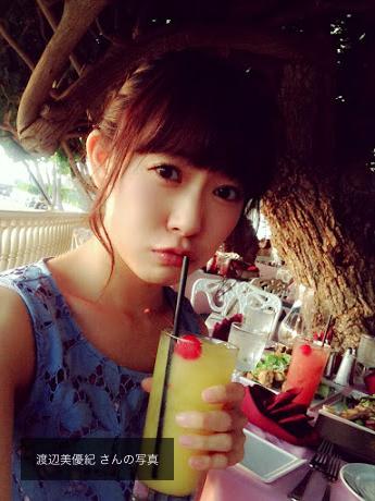 【朗報】渡辺美優紀が何事もなかったかのようにぐぐたす通常更新!