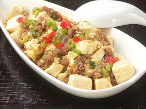 電子レンジマーボー豆腐