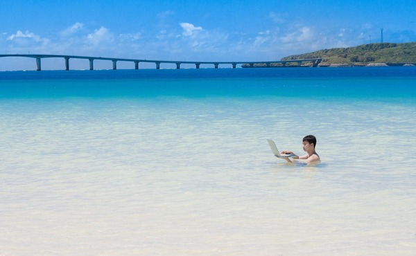 海水浴PC