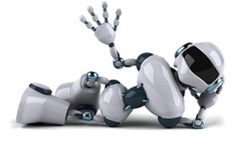 ロボット ひっぱたく