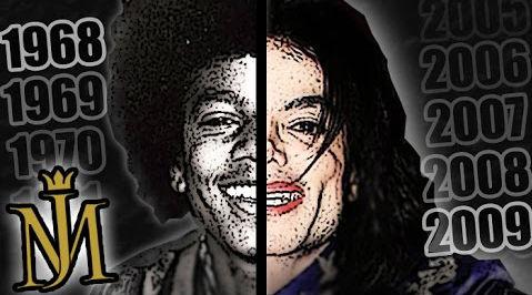 マイケル・ジャクソンの顔の変化を振り返ったトリビュート映像が話題に