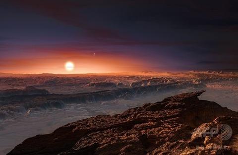 地球から約4光年の距離にあるプロキシマbが地球と同じ「海」があることが判明!生命が存在する可能性