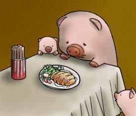 小学生「大好きな豚をころしてしまうんですよね?辛くないですか?」→農家のオジサン「みんなは誰かを愛しすぎて、殺したくなったことはないのかな?」