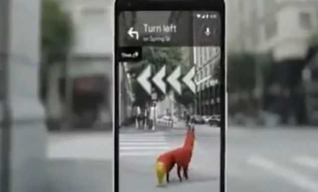 【動画】 進化したグーグルマップはAR技術でスマホの背景に映し出す!!