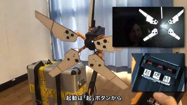 日本人が自作した「パタパタ」が話題に(海外の反応)