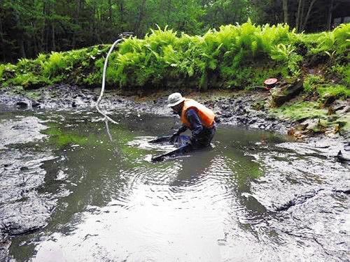 【環境】外来熱帯魚「グッピー」の根絶に苦戦…水温下がらず 阿寒国立公園内のオンネトー湯の滝