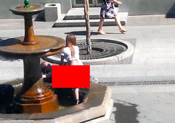 【※マジキチ※】「お!公園の噴水でセクロスしてるヤツおるやんけ!撮ったろ」 → 写真がコチラwwwwwwwwwwwww(画像あり)